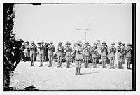 War cemetery consecration, Gaza-Belah, April 28, 1925 LOC matpc.08206.jpg