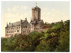 Wartburg, from the east, Thuringia, Germany-LCCN2002720778.jpg
