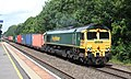 Warwick - Freightliner 66562 Southampton containers.JPG