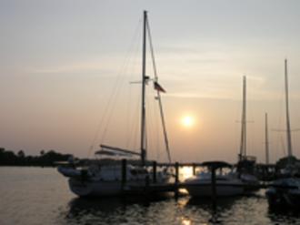 Washington, North Carolina - Sailboats in Washington