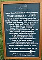 Watch House Museum Information Board - geograph.org.uk - 960669.jpg