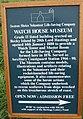 Watch House Museum Information Board - geograph.org.uk - 960669.jpg