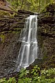Water in a rapid flow. Rusilovskie waterfalls.jpg