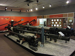 Iron Building (Watervliet Arsenal) - Museum interior