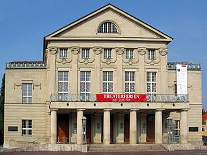 Deutsches Nationaltheater and Staatskapelle Weimar - Image: Weimar Theater