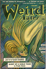 Weird Tales cover image for January 1943