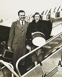 Wellington and Ann Mara 1954.JPG
