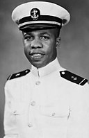 Wesley Brown 1949 photo by US Naval Academy.jpg