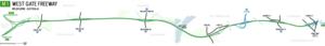 West Gate Freeway - Image: West Gate Freeway