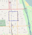 West Argyle Street Historic District map.png