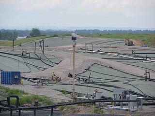 West Lake Landfill EPA superfund site in Missouri, US