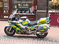 West Midlands Ambulance Service NHS Trust - New Street, Birmingham - Motorbike.jpg