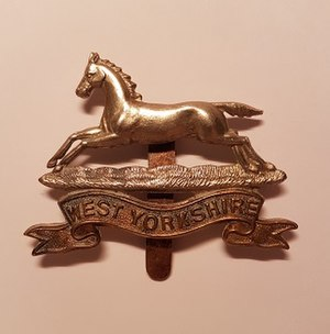 West Yorkshire Regiment - Badge of the West Yorkshire Regiment