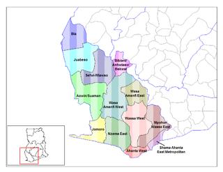 Jomoro District District in Western Region, Ghana
