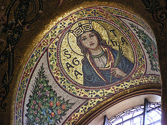 Westminster Cathedral - Neo-Byzantine mosaics