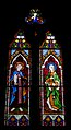 Wexford Church of the Immaculate Conception South Aisle Window Saints Hyacinth and Amillea 2010 09 29.jpg