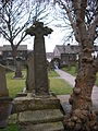 Third Anglo-Saxon cross in the churchyard