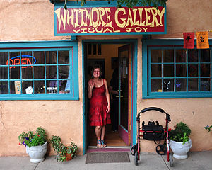 La Veta, Colorado - Art Gallery in La Veta, 2014