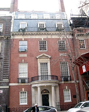 East 80th Street Houses - Image: Whitney house 120 E80 jeh