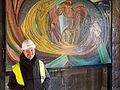 """Wiederentdeckung des Otto-Freundlich-Mosaik """"Die Geburt des Menschen""""-8715.jpg"""