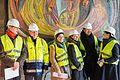 """Wiederentdeckung des Otto-Freundlich-Mosaik """"Die Geburt des Menschen""""-8739.jpg"""