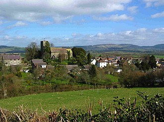 Wigmore, Herefordshire - Wigmore Church and Village
