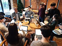 Wikipedian reading and edit meeting 20190330 - 3.jpg