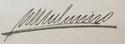 Wilhelmina's signature