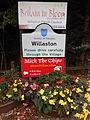 Willaston sign, Cheshire East (1).JPG