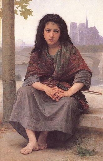 The Bohemian (Bouguereau) - Image: William Adolphe Bouguereau (1825 1905) The Bohemian (1890)