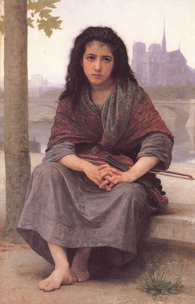 Fichier:William-Adolphe Bouguereau (1825-1905) - The Bohemian (1890).jpg
