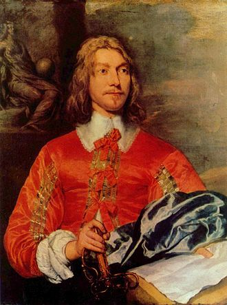 History of the Royal Marines - Portrait of a Maritime officer, by William Dobson, 17th century