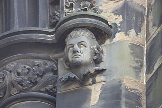 William Drummond of Hawthornden - William Drummond of Hawthornden as appearing on the Scott Monument