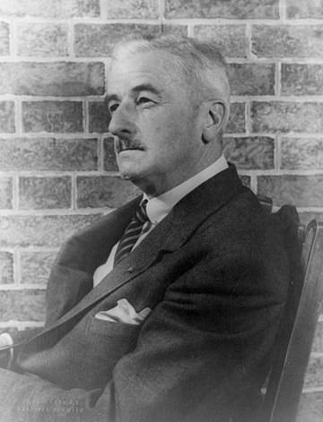 William Faulkner once lived among the students of UVA after winning the Nobel Prize for Literature, and bequeathed most of his papers to Alderman Library. William Faulkner 1954 (2) (photo by Carl van Vechten).jpg