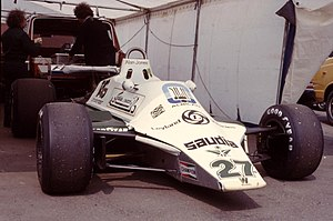 Alan Jones (racing driver) - 1980 championship winning car Williams FW07