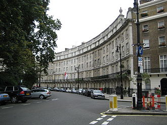 High Commission of Singapore, London - Image: Wilton Crescent