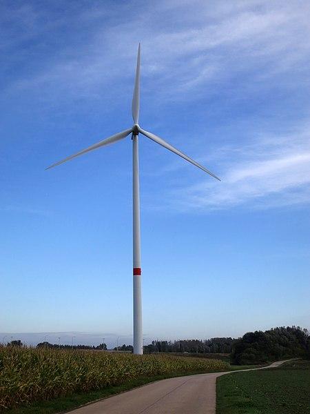 Windturbine Berloz (E40)