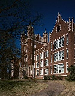 Winthrop College, Withers Building, Oakland Avenue, Rock Hill (York County, South Carolina).jpg