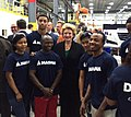 With some of the 100s of people newly hired to work at the Magna DexSys plant in Delta Twp. (15829867005).jpg