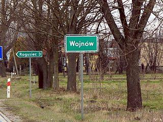 Wojnów, Masovian Voivodeship Village in Masovian, Poland