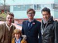 Wolfgang Groos mit den Darstellern Friedrich Mücke, Arsseni Bultmann und Ralph Caspers (2).jpg