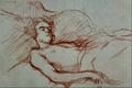 Woman Sleeping - Henri de Toulouse-Lautrec.png