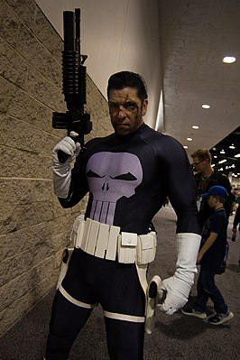 Cosplayer - The Punisher, 2019
