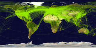 Civil aviation - Scheduled airline traffic in 2009