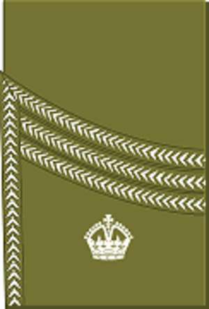 Major (United Kingdom) - Image: World War I British Army major's rank insignia (sleeve, Scottish pattern)