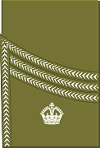 Major (United Kingdom) - Image: World War I British Army major's rank insignia (sleeve, Scottish pattern)