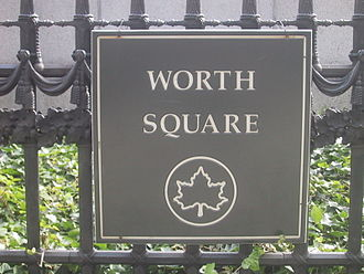 William J. Worth - Worth Square