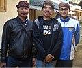Writer Darpan with Baduy friends.jpg