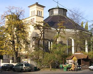 Carl Ferdinand Langhans - Church of St. Joseph the Protector in Wrocław, Langhans' birthplace, built by him on the site of a medieval church. It was known as the Church of St. Ursula and the Eleven Thousand Virgins until 1946.