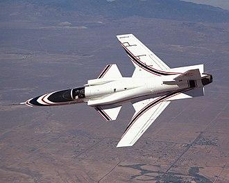 Forward-swept wing - Grumman X-29 displaying forward-swept wing configuration